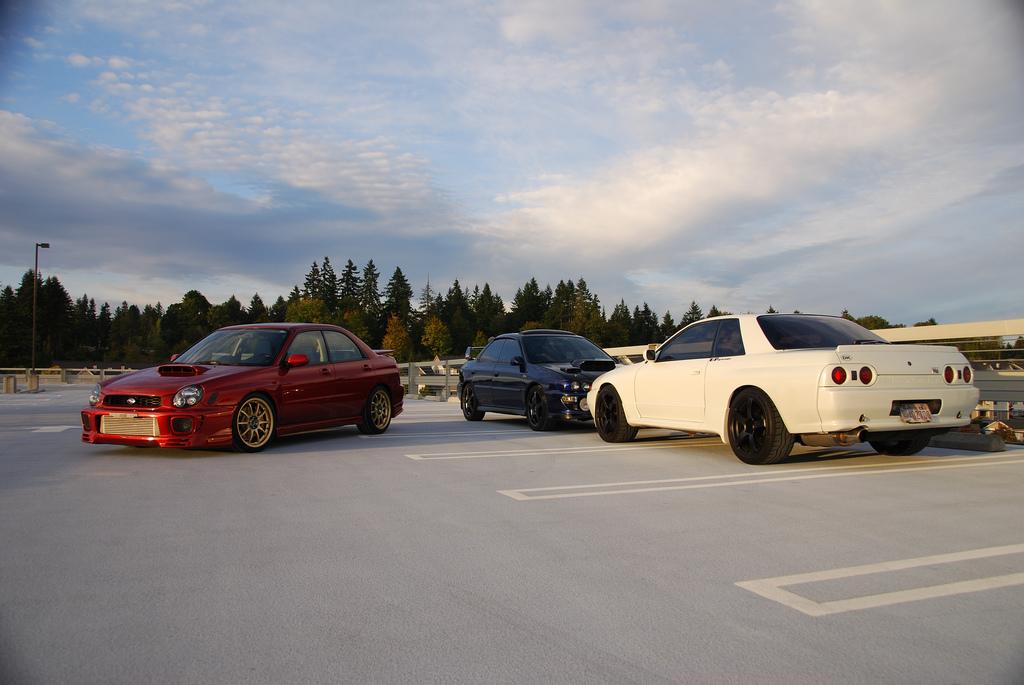 Subaru Impreza GC &  GD, Nissan Skyline R32, najlepsze samochody z napędem na cztery koła, JDM