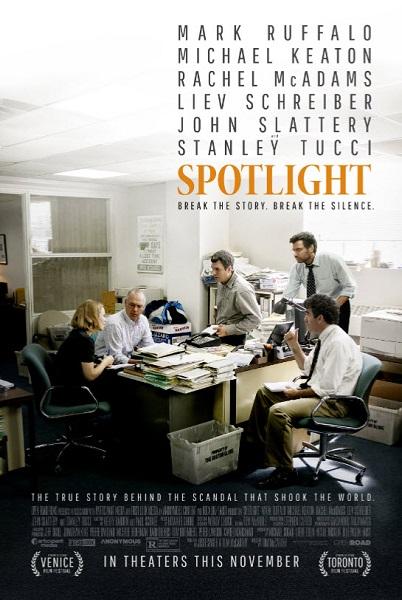 Film Spotlight 2015 di Bioskop