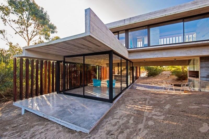 hogares frescos  retiro de vacaciones revestido de madera