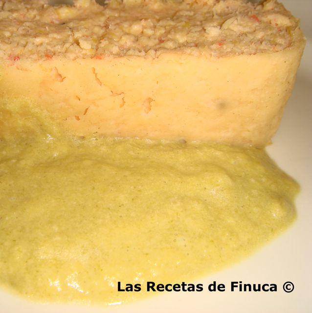 Las recetas de finuca pastel de puerros y langostinos - Hojaldre de puerros y gambas ...
