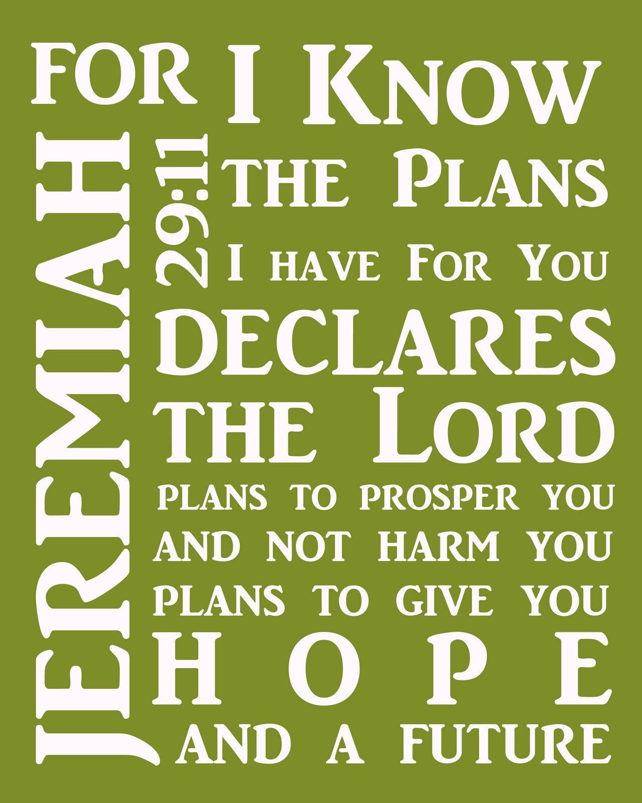 Free jeremiah 29 11 coloring pages