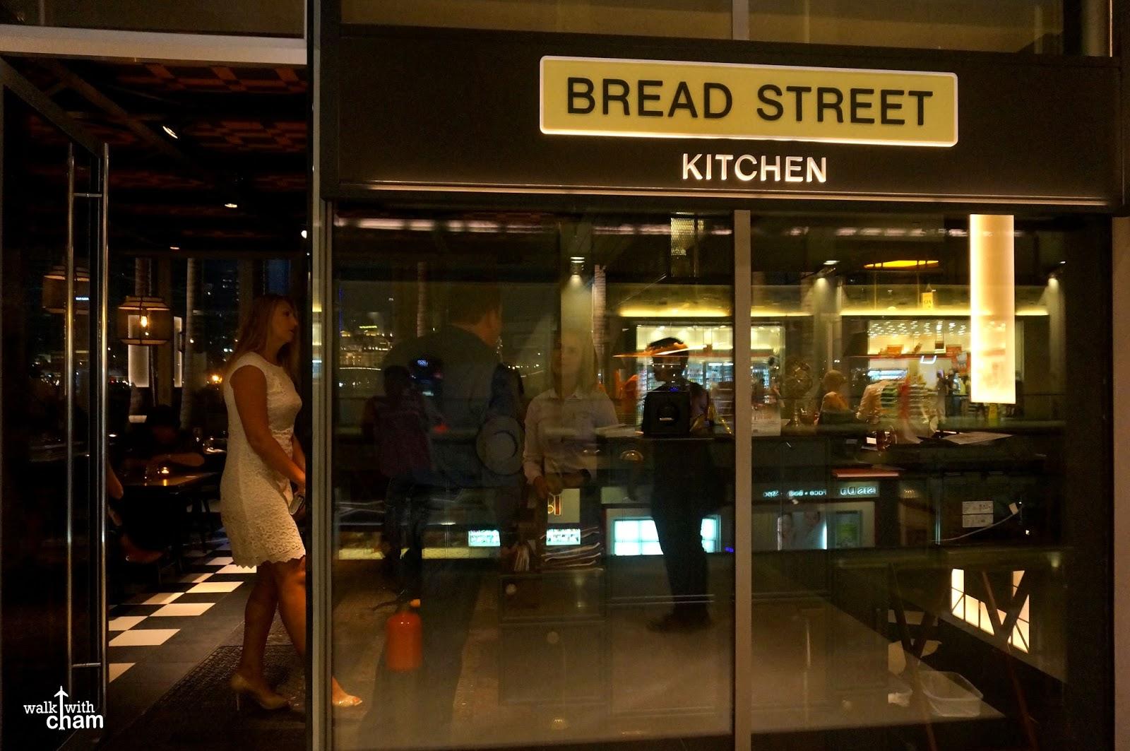 Walk with cham bread street kitchen jamie 39 s italian for Italian street kitchen