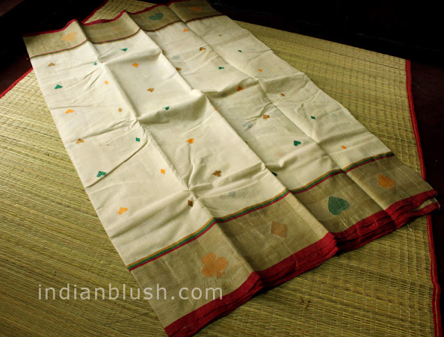 Bengali Wedding Tant Muga Saree