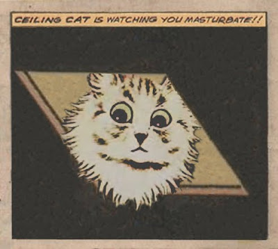 Jack Kirby Original Ceiling Cat