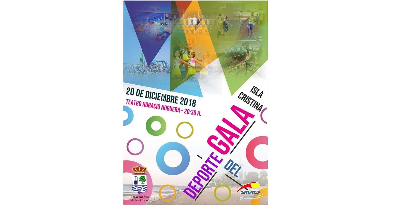 Gala Deporte Isla Cristina 2018.
