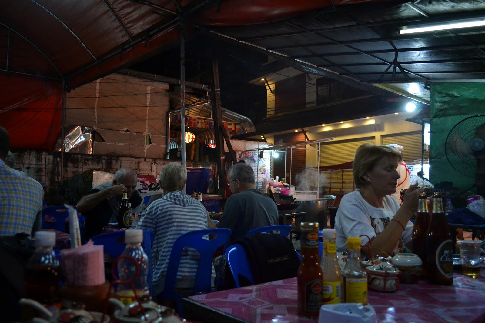 Chaing Mai, Marché, Night Bazaar, Thailande