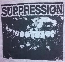 "SUPPRESSION ""Electric Teeth"" T-shirt"