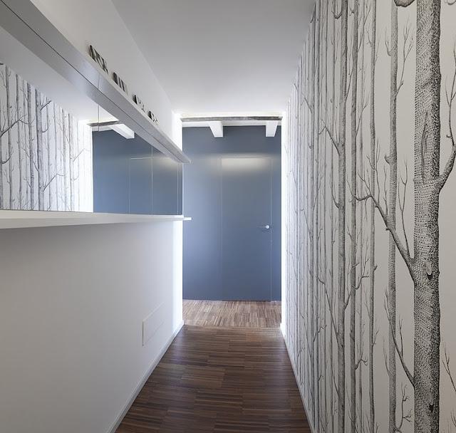 Skandinavisches Design für Einrichten und Wohnen auf kleinstem Raum: Flur