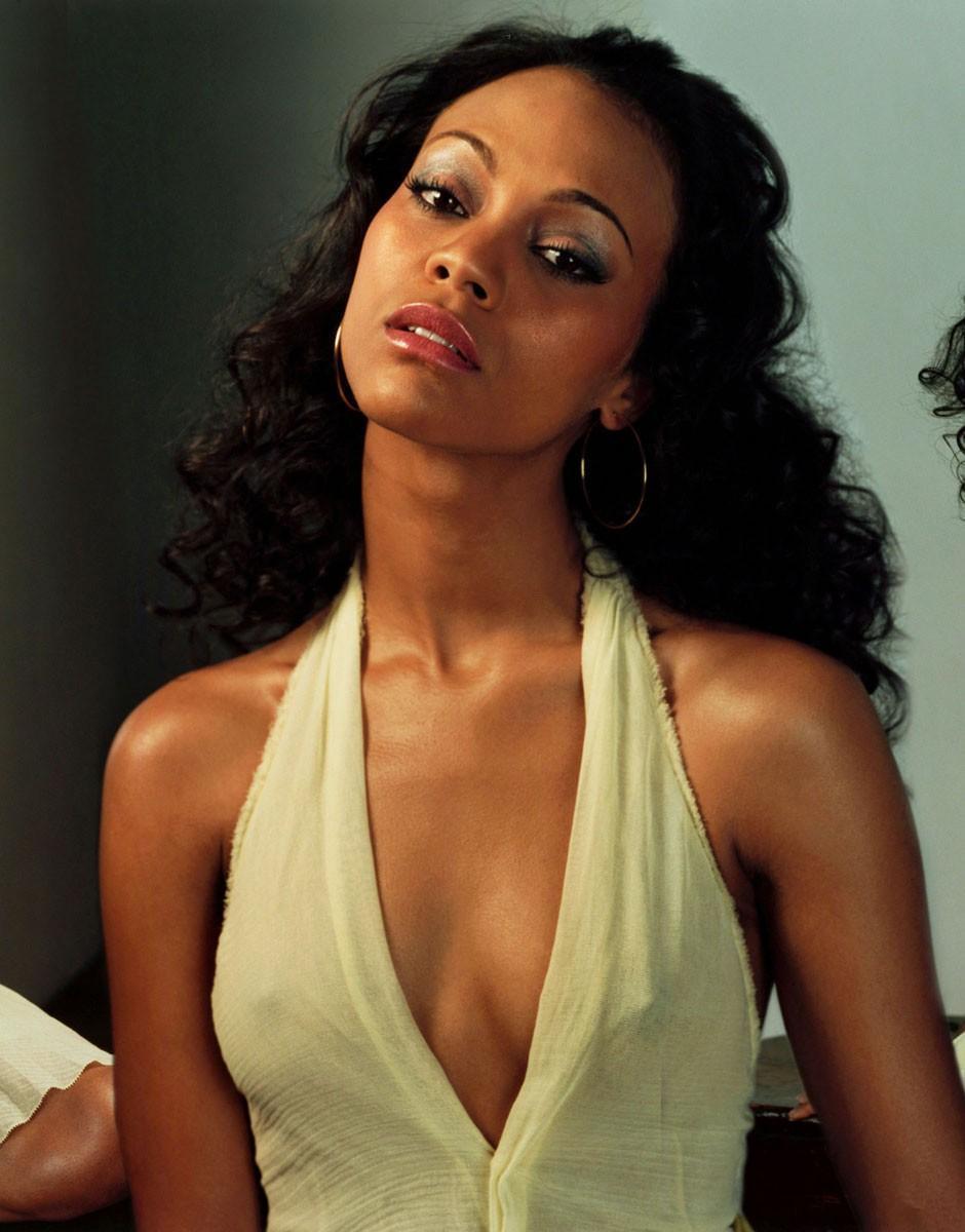 black women actors nude