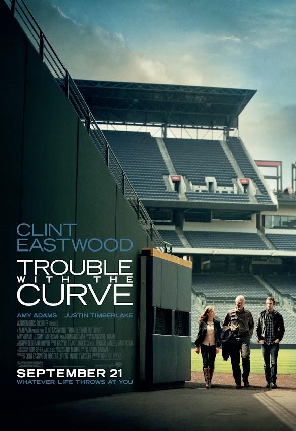 ตัวอย่างหนังใหม่ : Trouble With The Curve ซับไทย  (หักโค้งชีวิต สะกิดรัก) poster