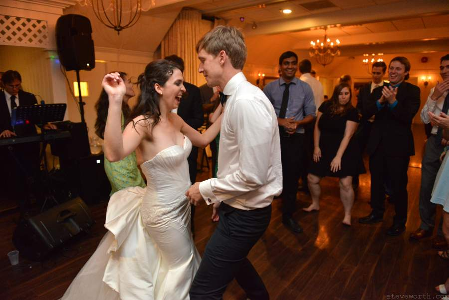 Lauren and John's Last Dance at Wedding