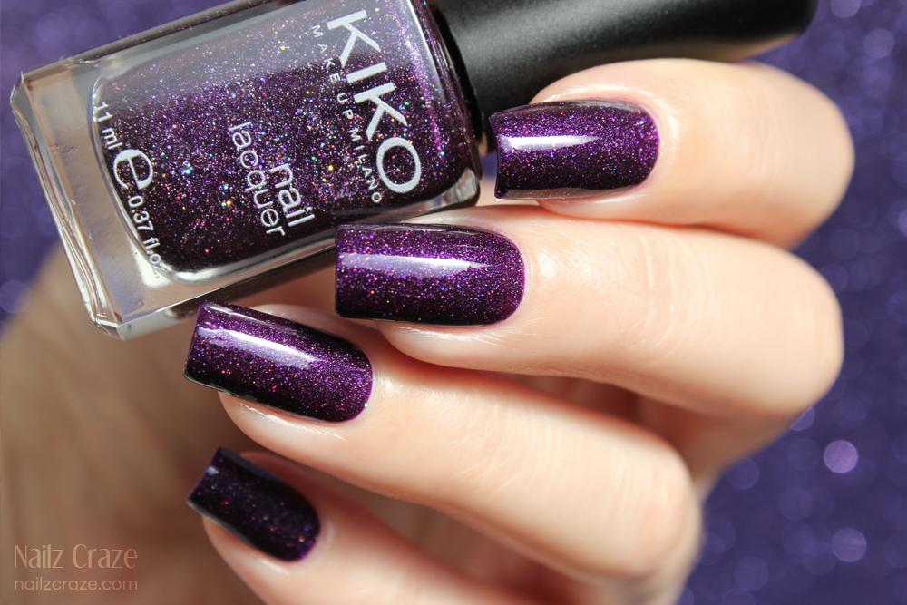 KIKO 255 Violet Microglitter - Nailz Craze
