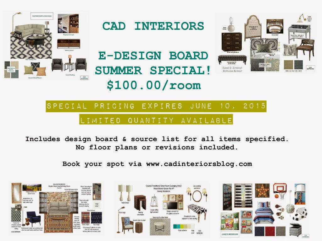 edesign interior design special promotion mini design boards