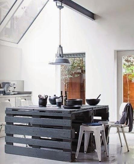 Idées meubles à  réaliser en bois ou en palettes