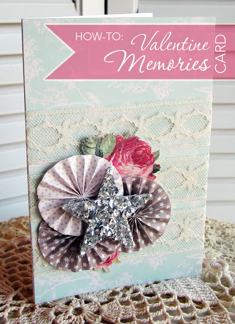 Tilda Winter Memories Valentines Card