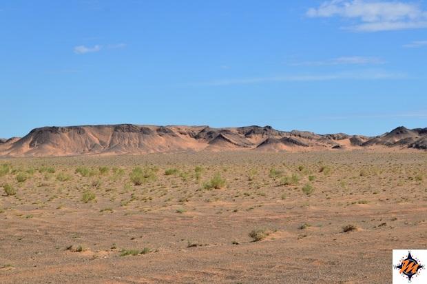 Percorrendo il deserto del Gobi