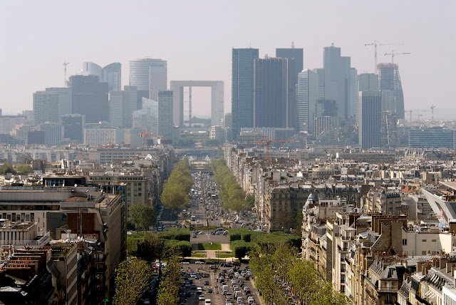 Paris, arranha-céu, arquitetura, La Defense, arquitetura de Paris