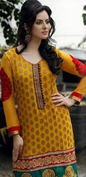 Best Indian &amp; Pakistani Salwar Kameez Suite Designs of 2012