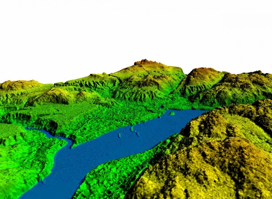 Modelización del terreno mediante LIDAR