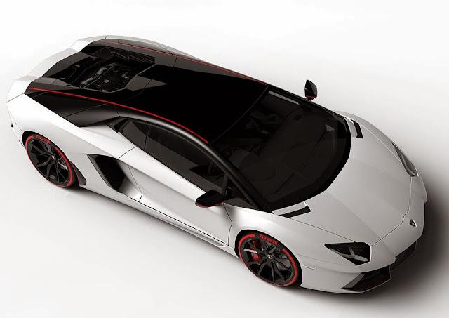 2016 Lamborghini Aventador exterior design