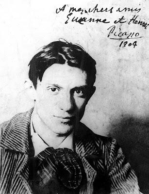 Picasso op 24-jarige leeftijd