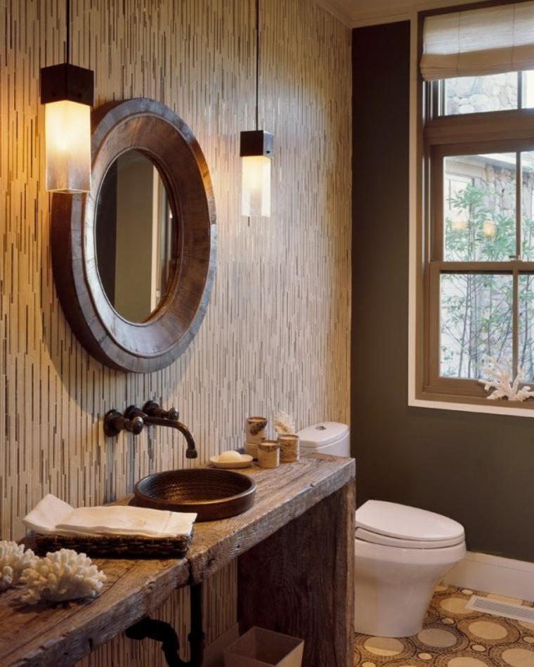 Espejo para baño minimalista: baños pequeños modernos fotos e ...