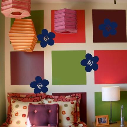 جديد ورق الجدران أخر ديكور حائط رسم جدار غرف ديكورات قمة الاناقة ديكور حوائط