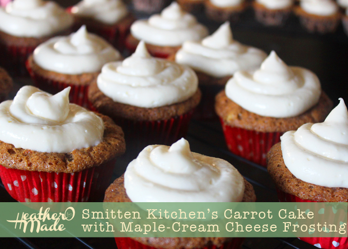... Made: Smitten Kitchen's Carrot Cake with Maple-Cream Cheese Frosting