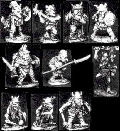 Citadel, Games Workshop, Speciality set, Goblin, raiding, party, Urag, Legeater, oop, old