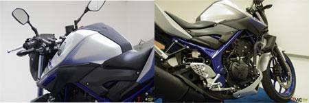 tangki dan mesin Yamaha MT-25