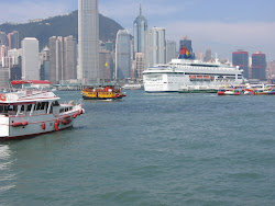 Crowded Victoria Harbour