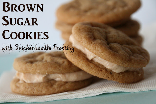 Snickerdoodle Cookie Dough frosting, Spice Cookies, Brown Sugar cookies