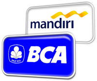 PAYMENT BCA AND MANDIRI BANK
