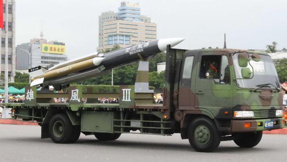 Rudal Supersonik Taiwan Hsiung Feng III