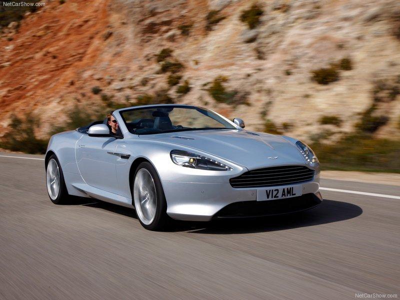 2012 new Aston Martin Virage