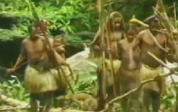 Los Toulambi, el primer contacto con la civilización
