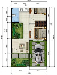 gambar rumah minimalis 2 kamar tidur