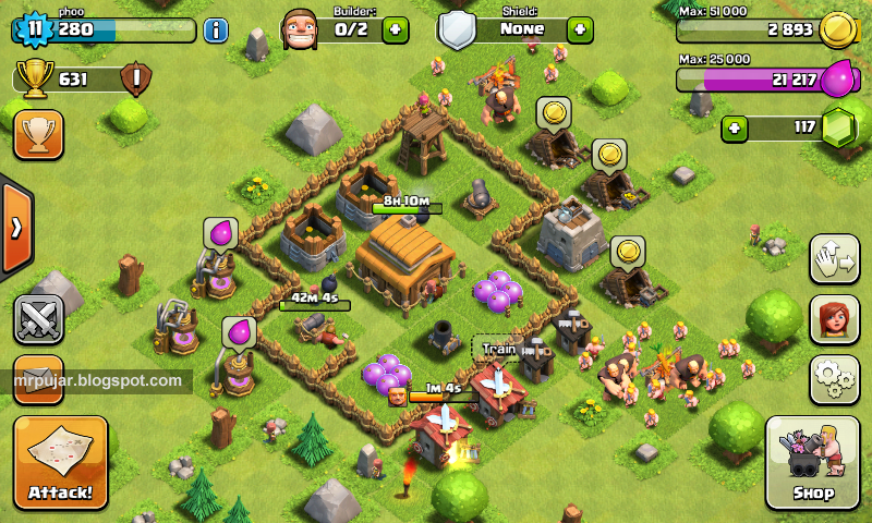 akun phoo game clash of clans