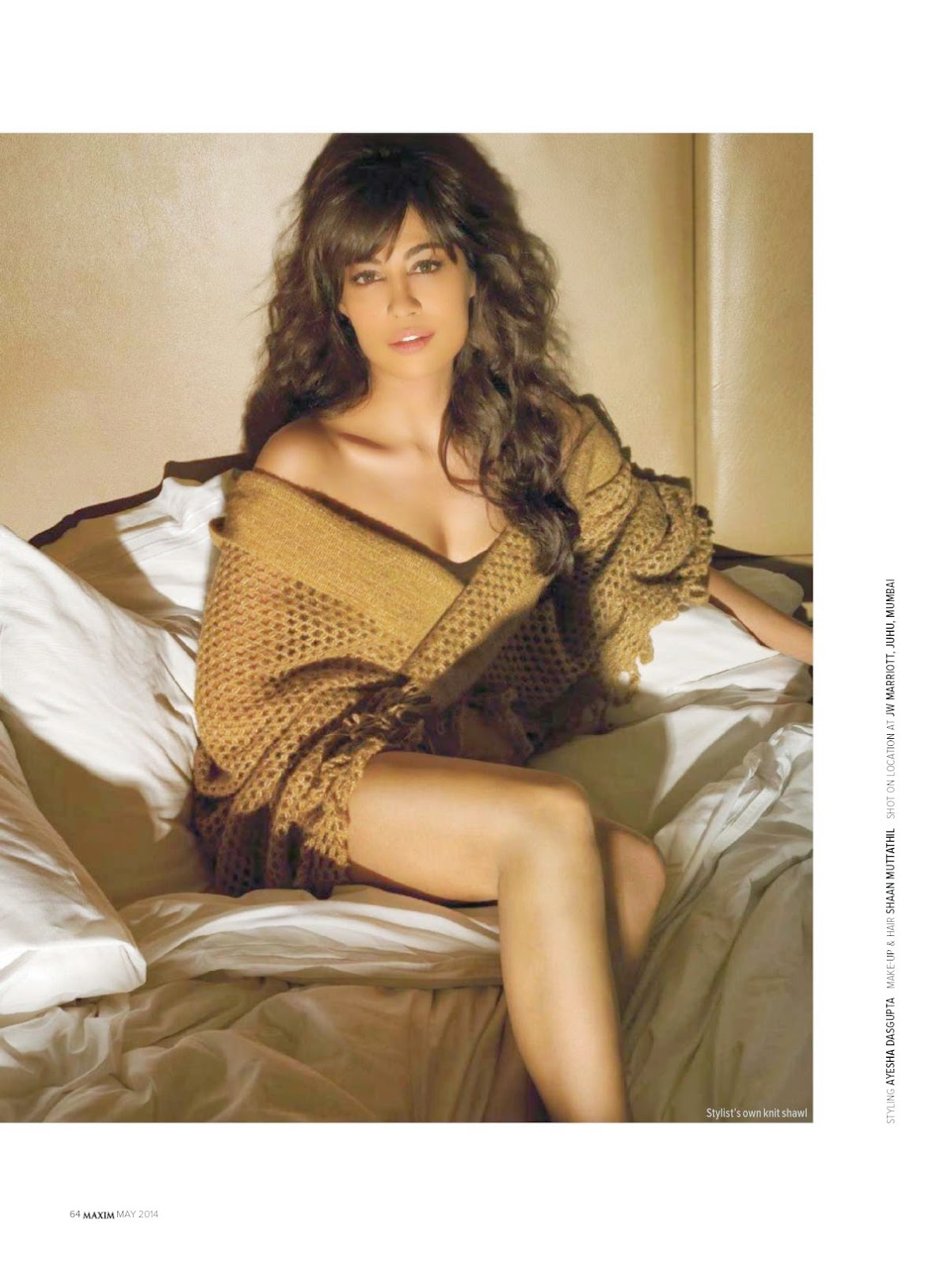 Chitrangada Singh - Hot Maxim Magazine Photoshoot May 2014