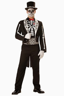 Day Of The Dead Groom Adult Costume