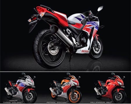Pilihan Warna All New Honda CBR 250