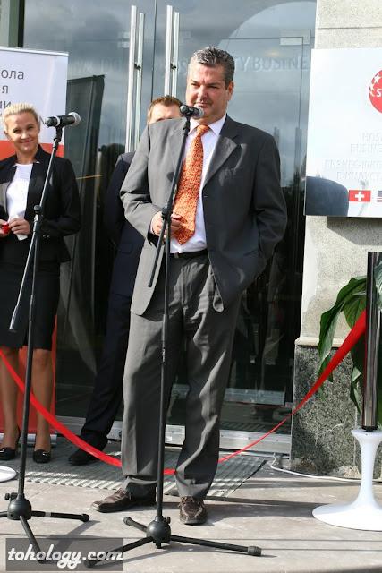 Роджер Вайценеггер (Roger-Peter Weizenegger) проректор swissam