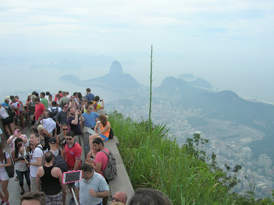 Mirador del Cristo Corcovado, Rio de Janeiro, Brasil, La vuelta al mundo de Asun y Ricardo, round the world, mundoporlibre.com