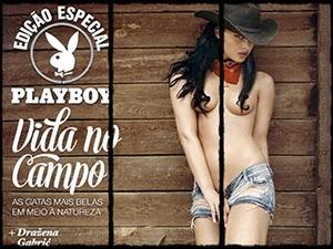 Nova Revista Playboy Especial Vida no Campo