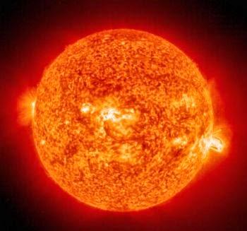 Ilustrasi Bentuk Matahari