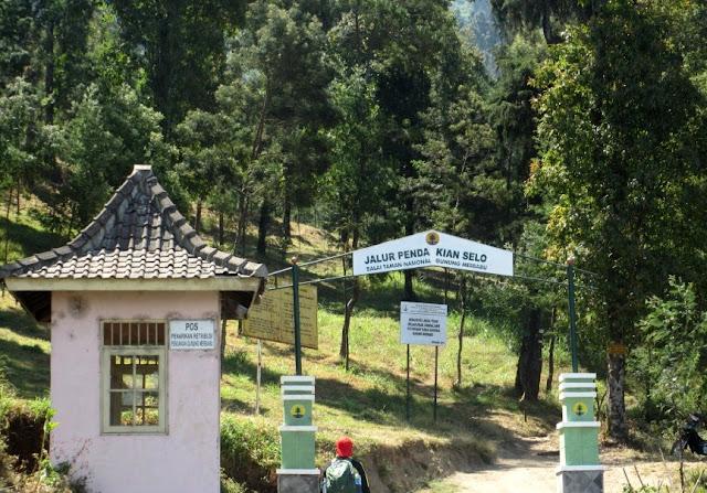 4 Jalur Pendakian Gunung Merbabu