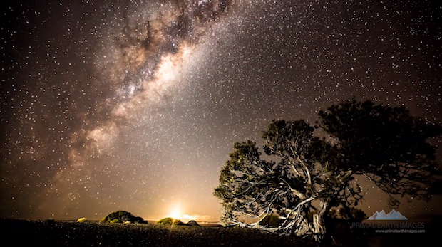 紐西蘭北島(North Island)的縮時攝影