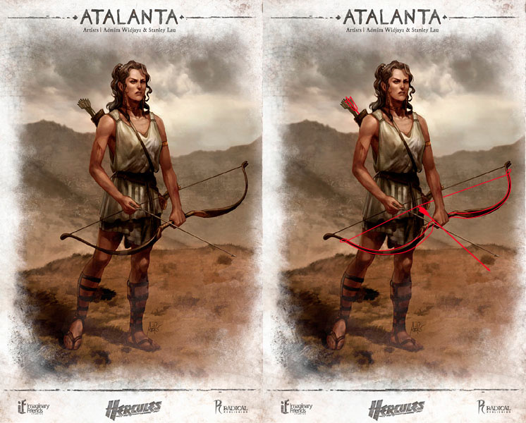Crap Archery Atalanta Concept Art From Hercules 2014
