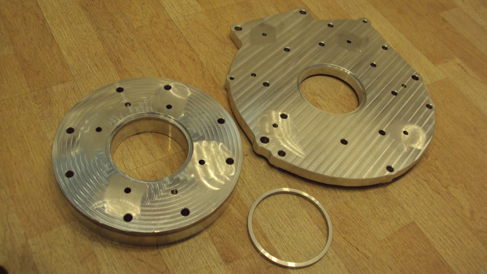 how to build a transmission adapter plate