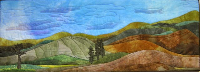 quilted projects quilted landscapes